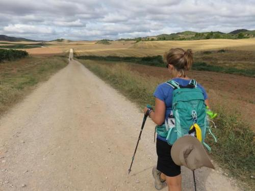 Camino Experience Kristen Shane 7 walking the camino