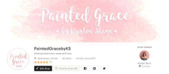 PaintedGracebyKS store on Etsy