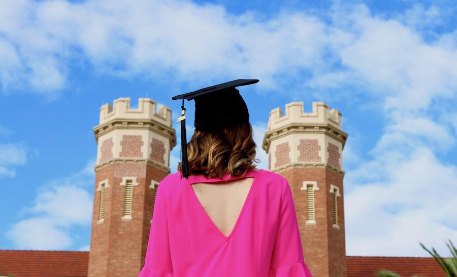 My College Graduation from FSU Kristen Shane