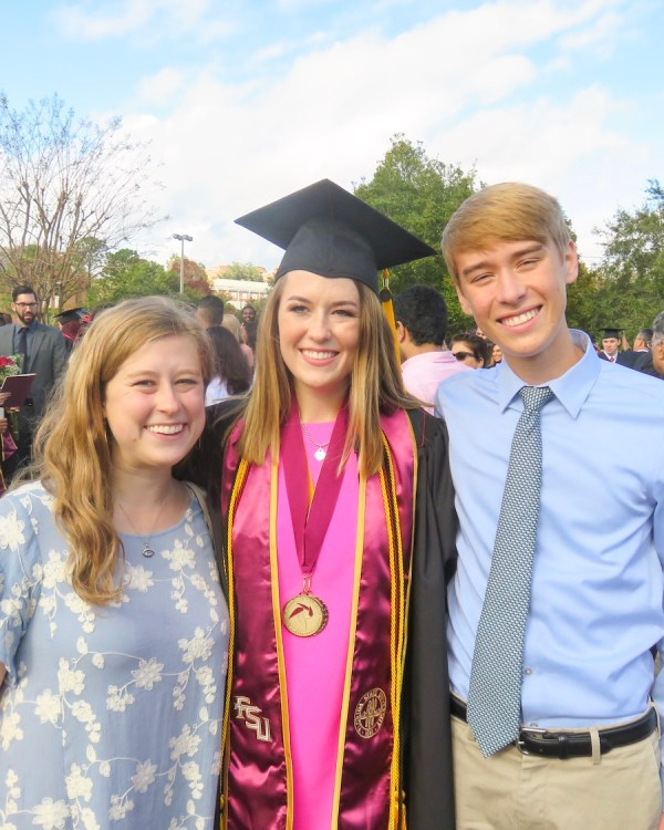 My College Graduation from FSU Kristen Shane 11