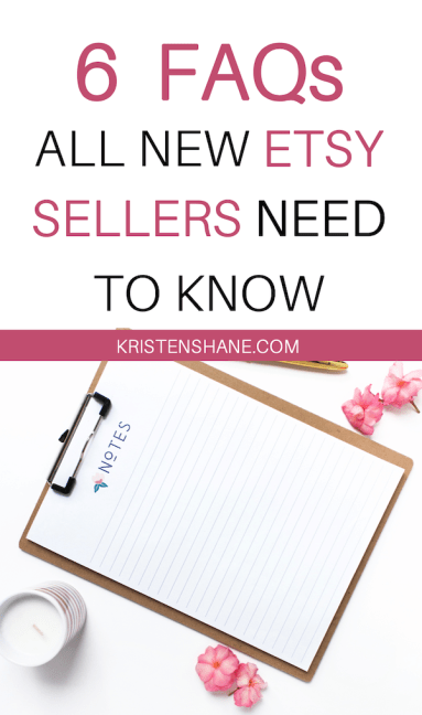 How to Sell on Etsy for Beginners Q+A
