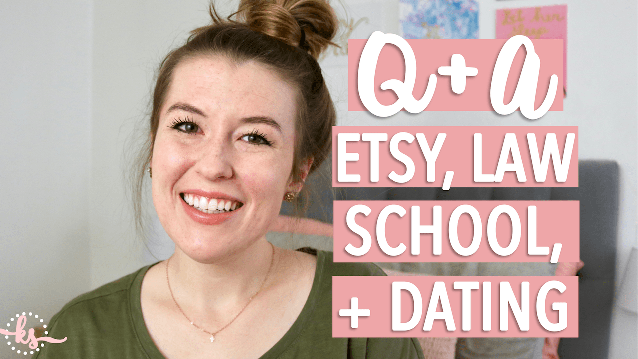 Q+A: Etsy, Law School, Acne, & Dating | Life Update!