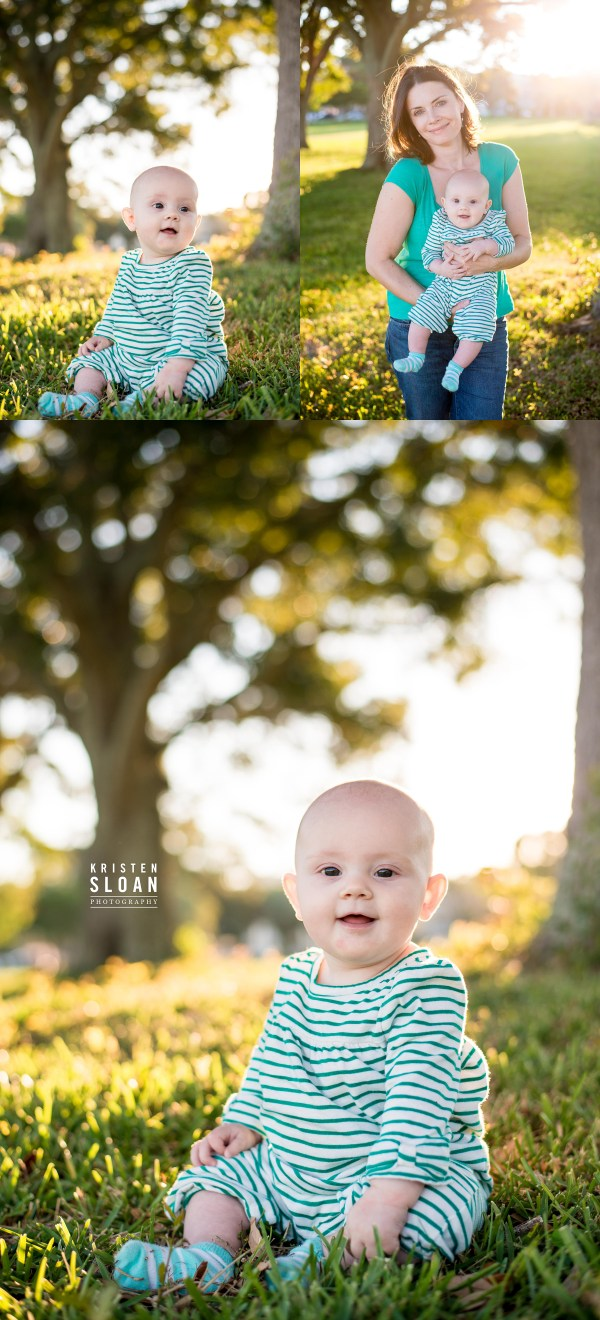 Northshore Park St Petersburg FL Baby Family Photos by Kristen Sloan Photography