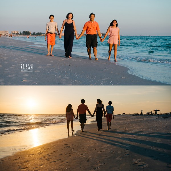 Treasure Island Family Beach Photos | St Pete Beach Wedding Portrait Photographer |Treasure Island Wedding Portrait Photographer