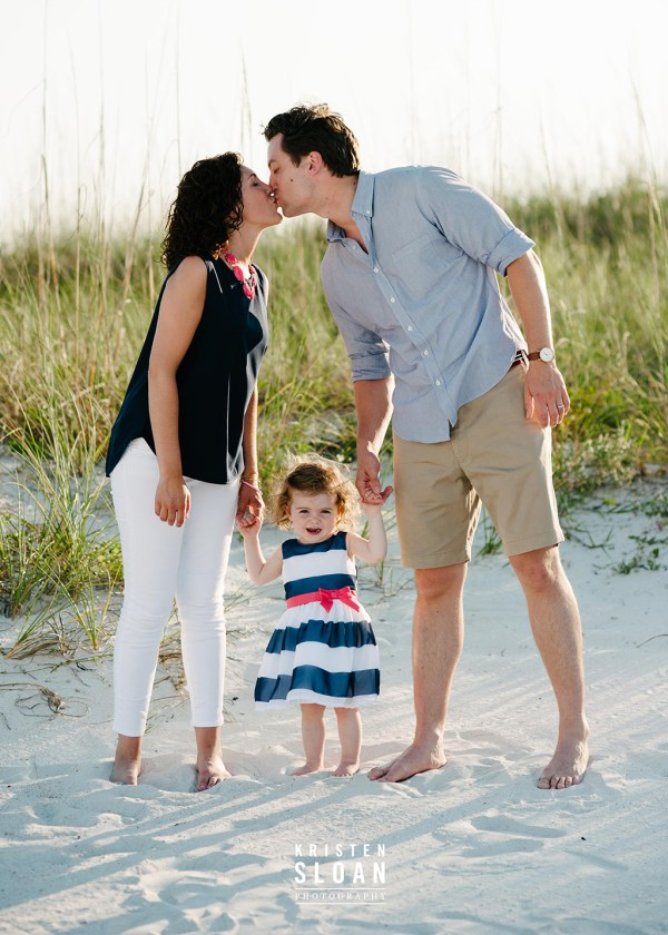 Sunset Vistas Treasure Island Family Beach Portrait Photos by Kristen Sloan Photography