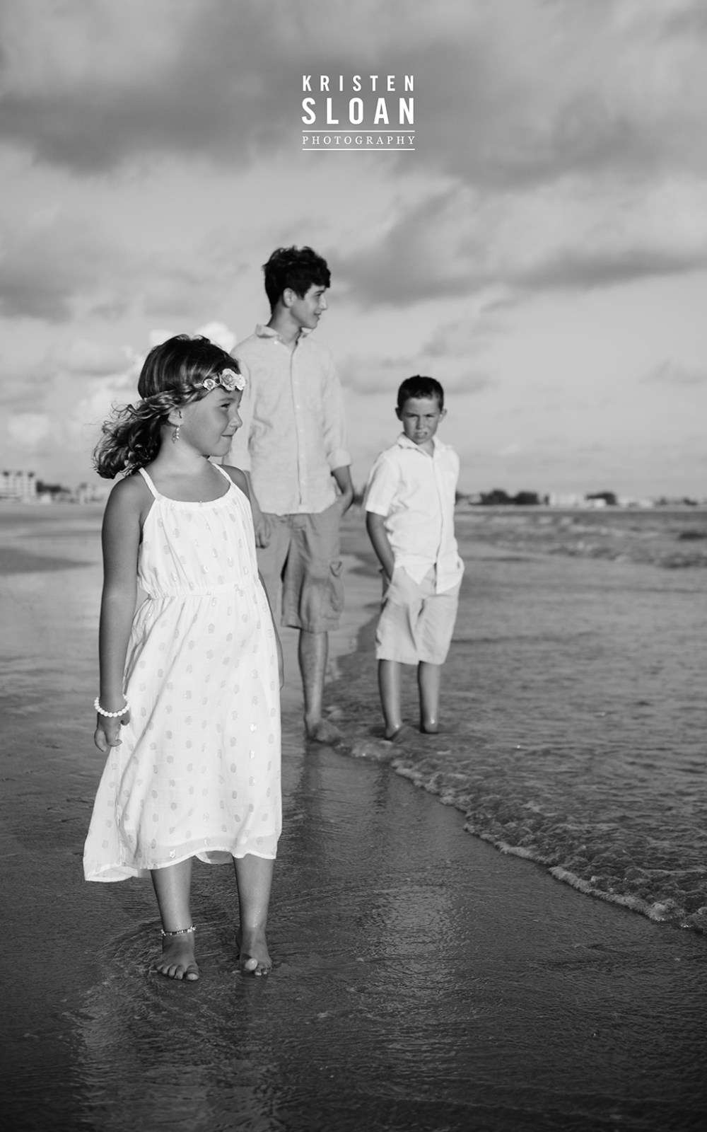 Sunset Vistas Family Beach Portraits in Treasure Island by Kristen Sloan
