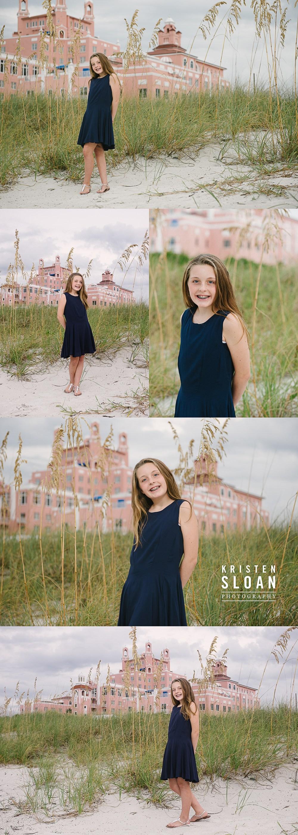 Don Cesar Hotel Kids Beach Portraits