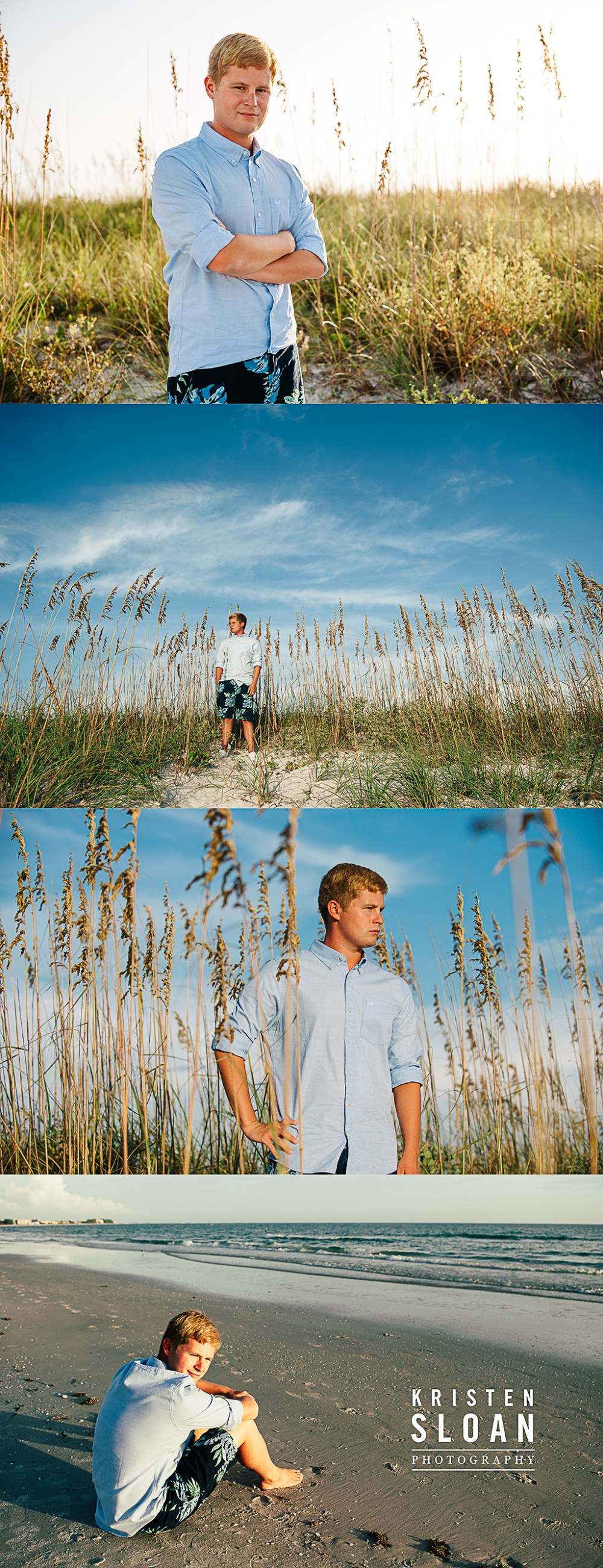 Downtown St Pete FL & Treasure Island Beach High School Senior Photos