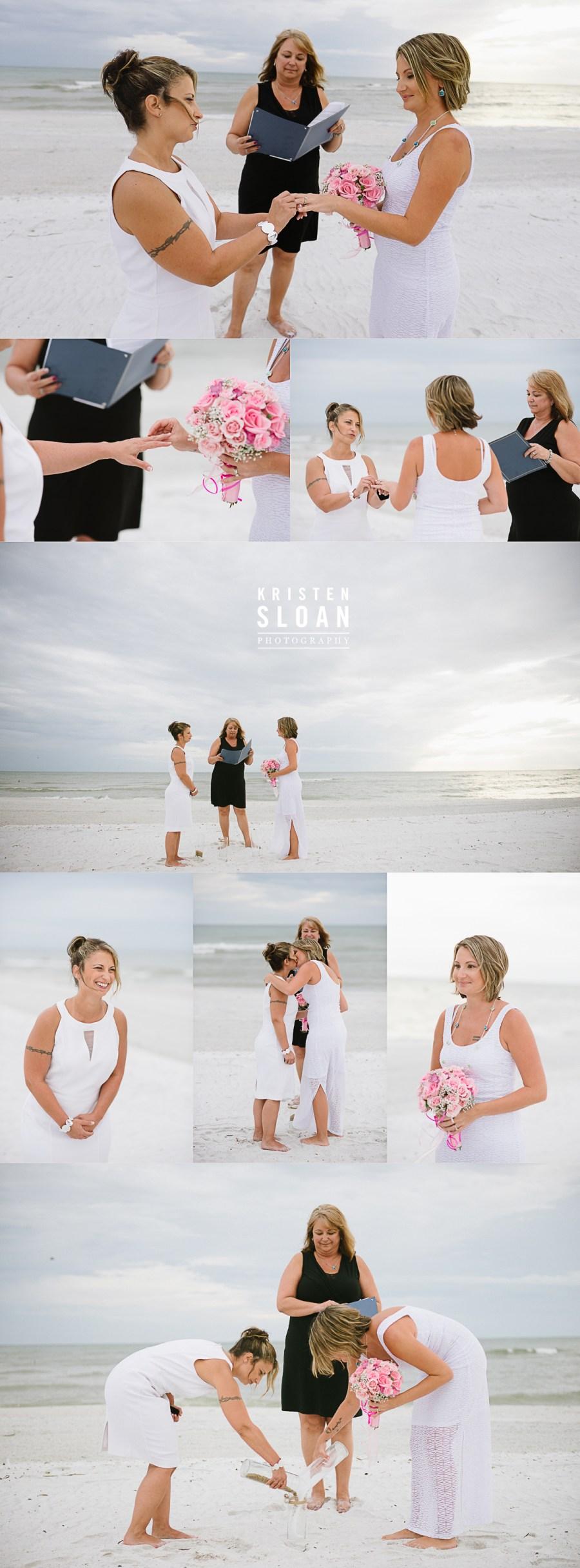 Treasure Island Beach Florida Wedding at Sunset Vistas Beachfront Suites