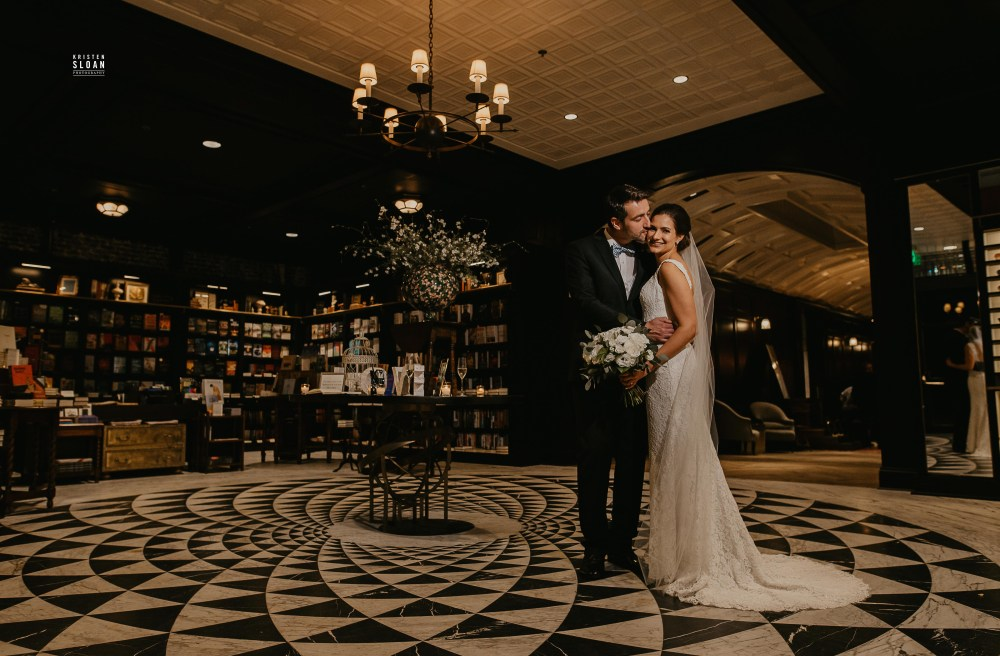 Oxford Exchange Tampa Wedding Photographed by Kristen Sloan