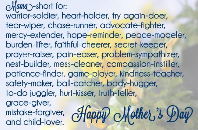 Mom's Day flower