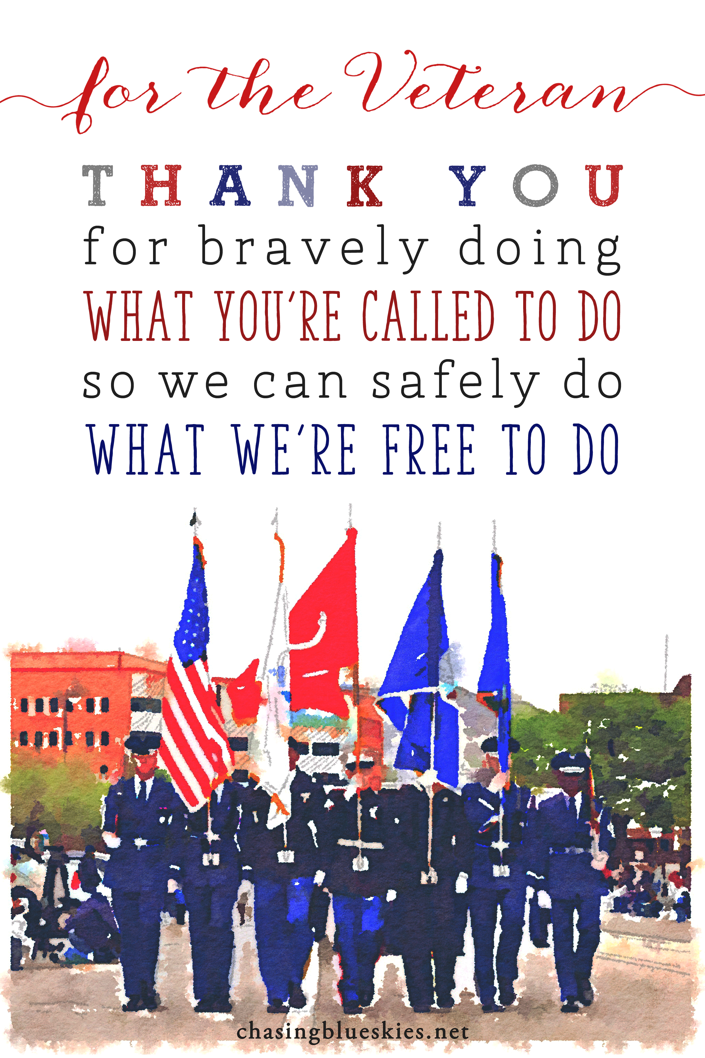 A Thank You To The Veteran And A Prayer For The Military