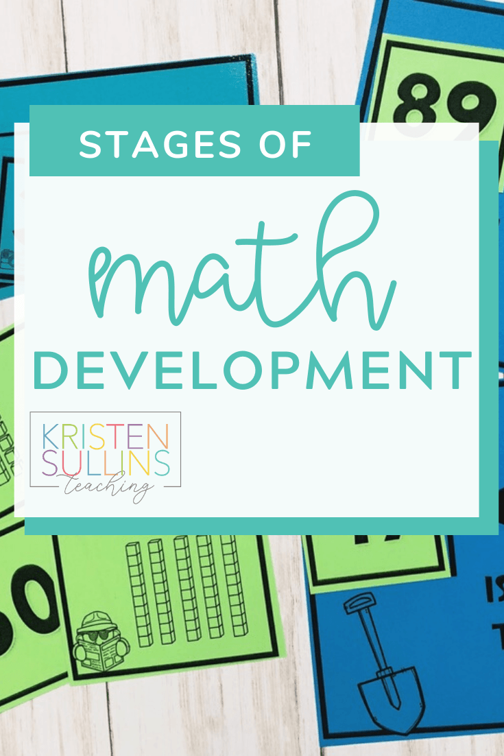 How to Plan Stages of Math Development