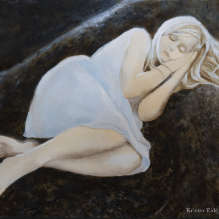Sleeping Beauty Oil Painting