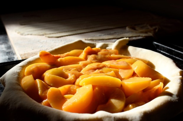 PEACH PIE PROCESS 1