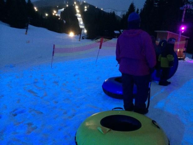 cosmic sledding line