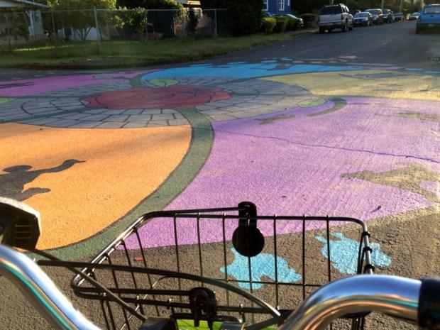 pedal portland street art