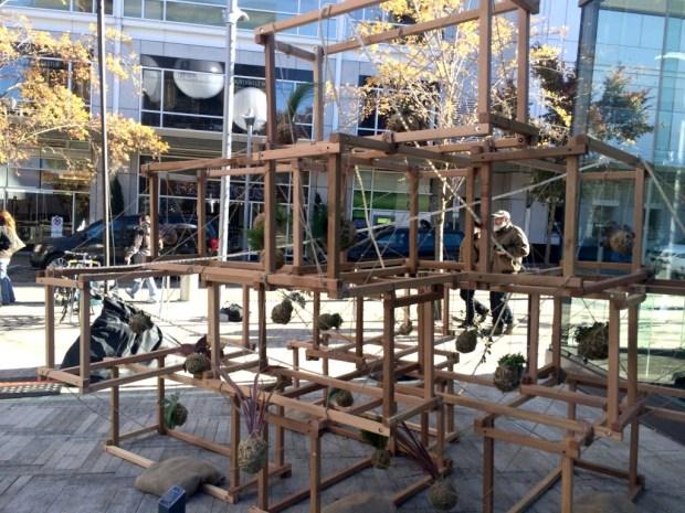 exhibit growth installation