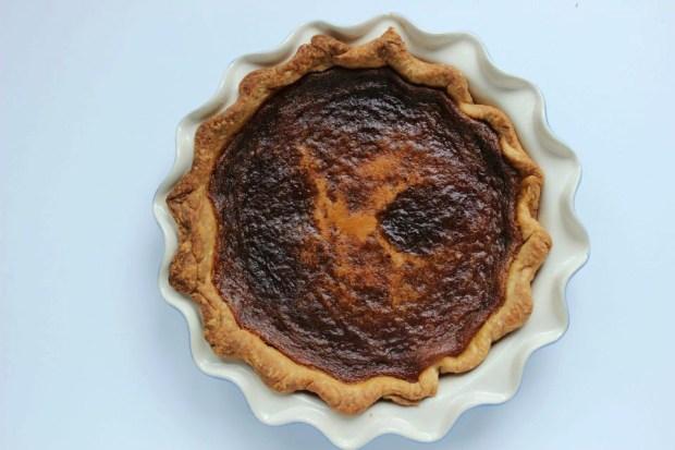 Salted honey pie whole