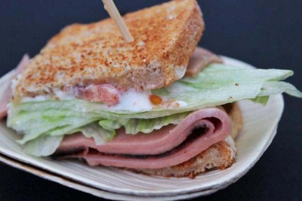 Sandwich invitational fried bologna