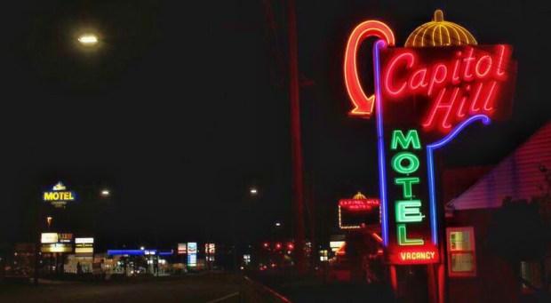 Best Neon Capitol motel