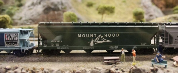 Model railroad mt hood railroad