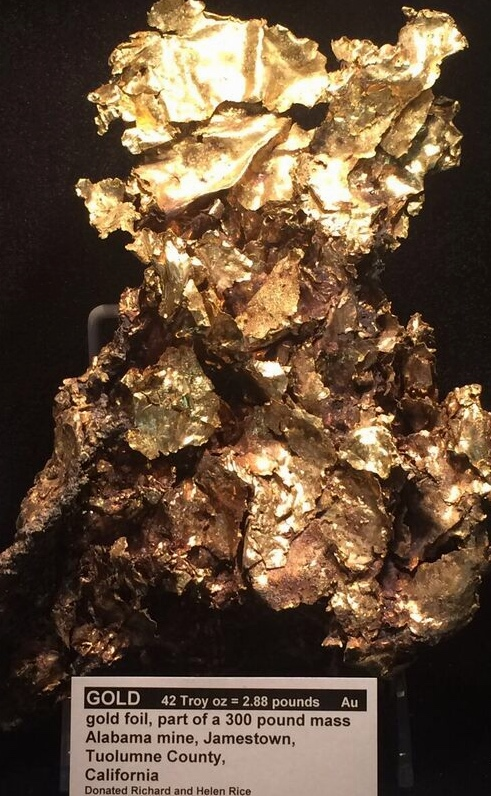 Rice Museum Gold nugget
