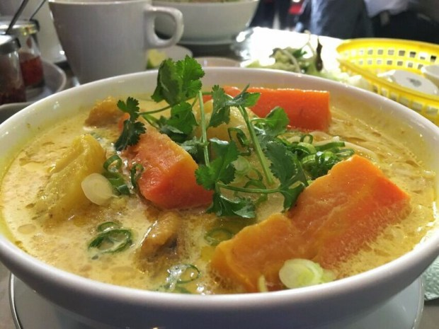 HaVL chicken curry soup