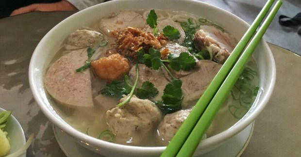 HaVL pork meatball soup
