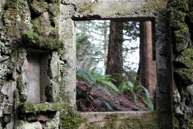 skamania stone house window