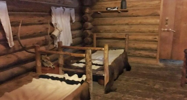 Fort Clatsup Officers bed