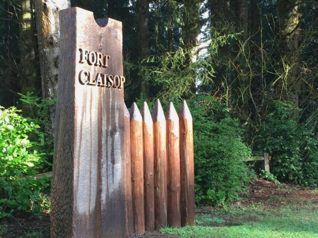 Fort Clatsup sign