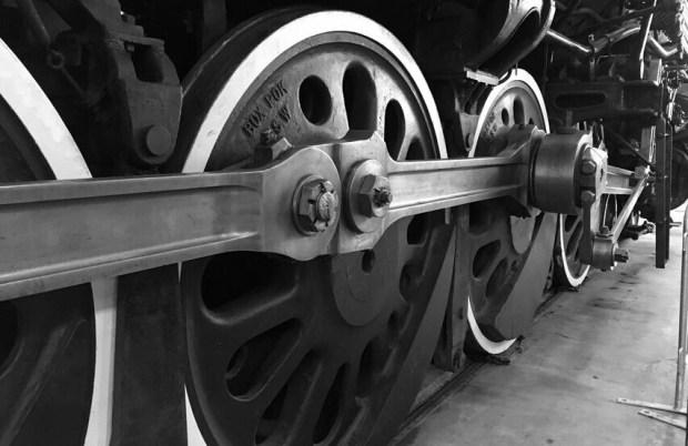 Oregon rail heritage train wheels