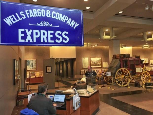 Wells Fargo Museum lobby