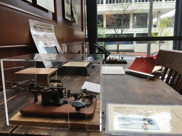 Wells Fargo telegraph
