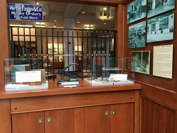 Wells Fargo window