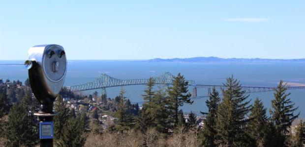 North Oregon Coast Astoria Column View