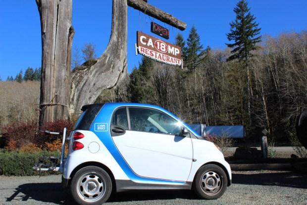 North Oregon Coast Camp 18 Car2Go
