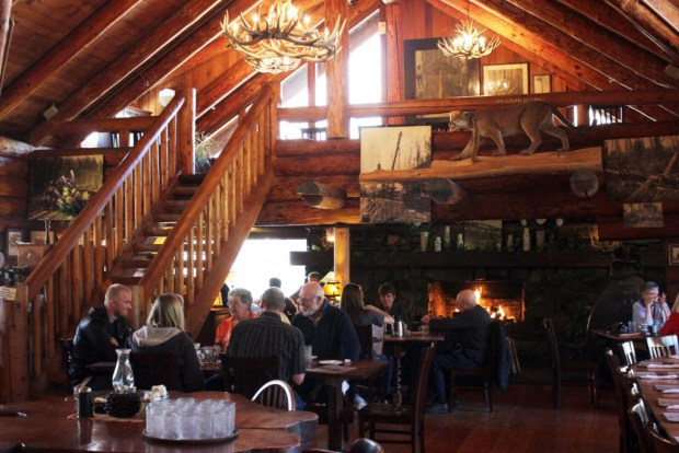 North Oregon Coast Camp 18 Dining Room