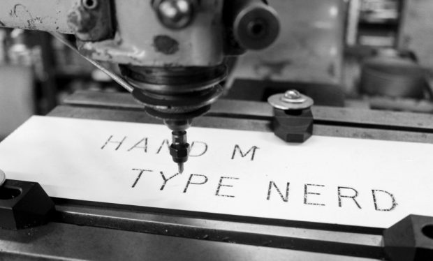 Museum of Typography hand type nerd
