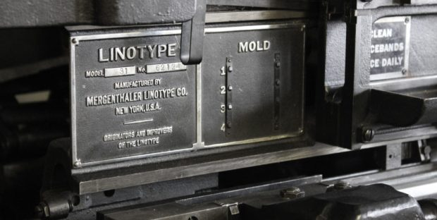 Museum of Typography linotype
