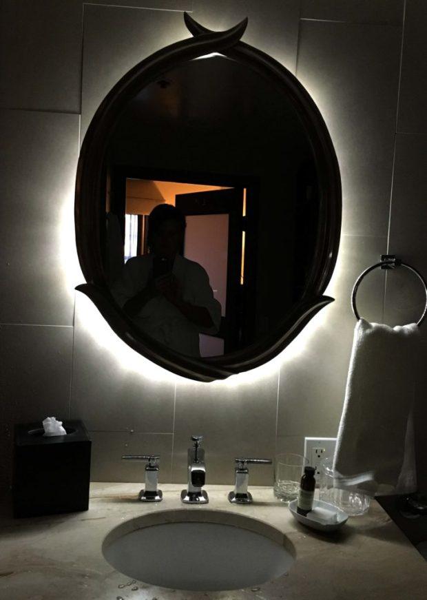 Heathman Hotel Backlit Mirror