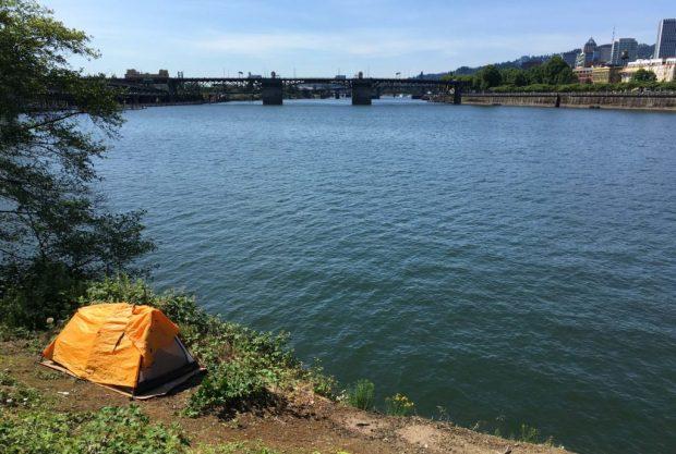 Waterfront Loop homeless