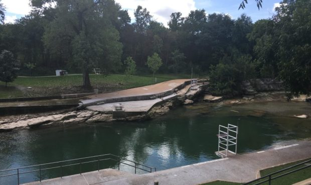 Austin Barton Spring Pool Closed
