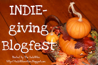 A Week of Thanks Giving – INDIE-Giving Blogfest