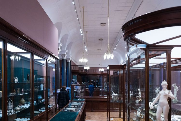 Reconstruction of Wolfers Frères shop designed by Victor Horta