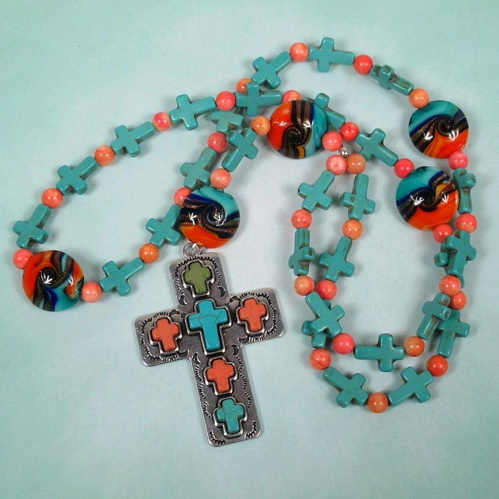 SW Sunset Neckalce Prayer Beads