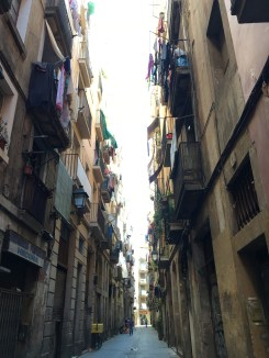 Other cool street in El Raval