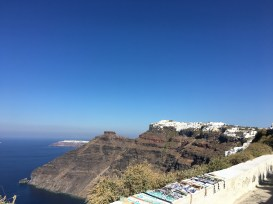 Imerovigli and Oia off in the distance
