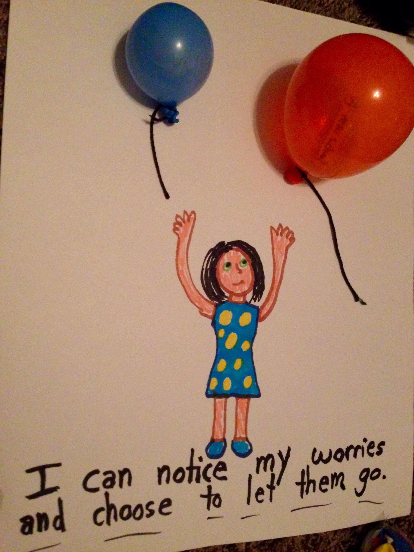 Worry Balloons Art Without Harmful Helium Balloons Art